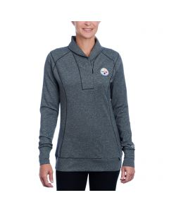 Pittsburgh Steelers Women's Cutter & Buck Shoreline 1/2 Zip Top