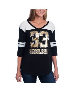 Pittsburgh Steelers '47 Women's 3/4 Sleeve Rush T-Shirt