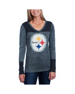 Pittsburgh Steelers Women's Touch Goal Line Long Sleeve Top