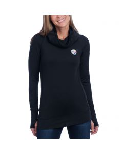 Pittsburgh Steelers Women's Nike Golf Fleece Bunker Funnel Top