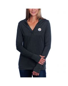 Pittsburgh Steelers Cutter & Buck Women's Chelan Hoodie