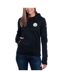 Pittsburgh Steelers Nike Women's Tailgate All Time Tech Fleece Hoodie