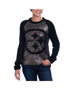 Pittsburgh Steelers Touch Women's Shine On Sweater