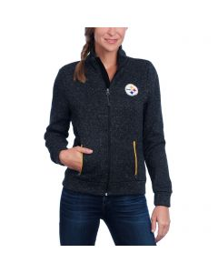 Pittsburgh Steelers Women's Touch Checkpoint Full-Zip Midweight Jacket
