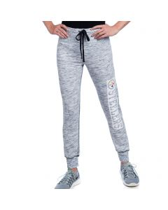 Pittsburgh Steelers Women's New Era Space-Dye Jogger Pant