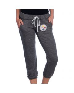 Pittsburgh Steelers Women's Fleece Capri Sweatpants