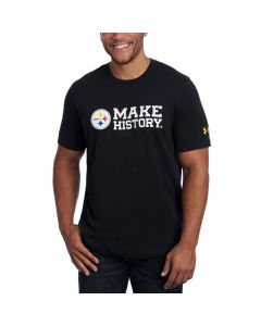 Pittsburgh Steelers Under Armour NFL Combine Short Sleeve Make History T-Shirt