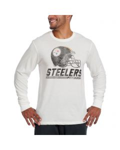 Pittsburgh Steelers '47 Long Sleeve FLANKER Helmet T-Shirt