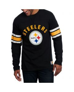 Pittsburgh Steelers Majestic Power Hit Long Sleeve T-Shirt