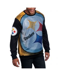 Pittsburgh Steelers Printed Space Warp Sweater