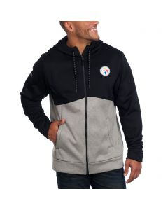 Pittsburgh Steelers Under Armour NFL Combine Full Zip Fleece Hoodie