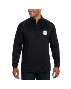 Pittsburgh Steelers Cutter & Buck Jackson Over-knit Top