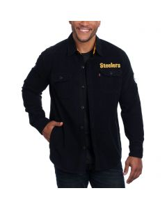 Pittsburgh Steelers Levi's Long Sleeve Fashion Button Down