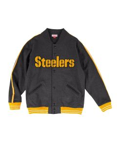 Pittsburgh Steelers Mitchell & Ness Play Call Fleece Jacket