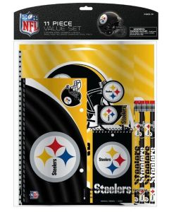 Pittsburgh Steelers Stationery Pack 11 Piece Set