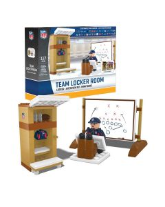 Pittsburgh Steelers Building Block Team Locker Room