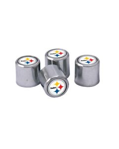 Pittsburgh Steelers 4- Pack Valve Stem Covers