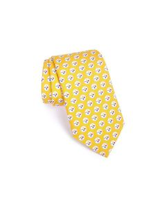Pittsburgh Steelers Gold Silk Tie
