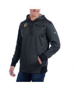Pittsburgh Steelers Nike Salute to Service (STS) Pull-over Fleece Hoodie
