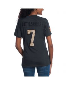 Ben Roethlisberger #7 Women's Nike Limited Salute to Service Jersey