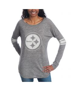 Pittsburgh Steelers '47 Women's Neps Long Sleeve T-Shirt