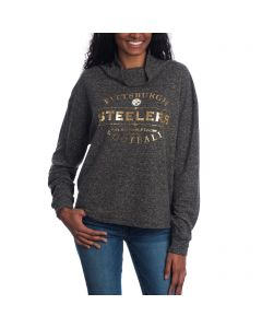 Pittsburgh Steelers Women's Slouch Neck Fleece