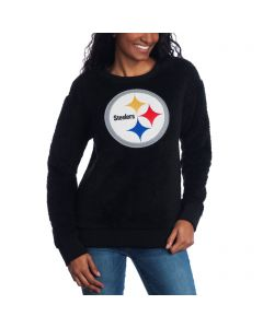 Pittsburgh Steelers Women's Touch Sherpa Pull-over Fleece Crew