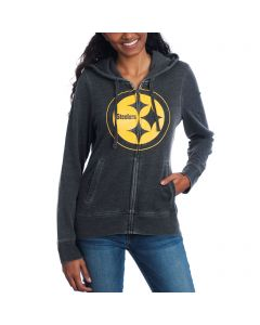 Pittsburgh Steelers Touch Women's Powerplay Fleece Hoodie