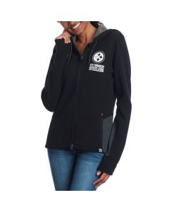 Pittsburgh Steelers '47 Women's Compete Fleece Hoodie