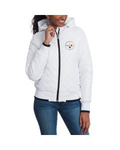 Pittsburgh Steelers Women's Touch Drop Back Heavy Weight Jacket