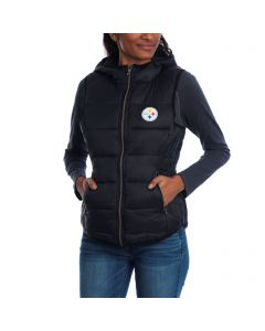 Pittsburgh Steelers Women's Touch Packable Full-Zip Vest