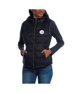 Pittsburgh Steelers Women's Touch Packable Full-Zip Vest