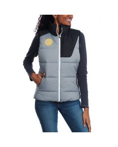 Pittsburgh Steelers Nike Women's Champion Drive Full Zip Mid-weight Vest