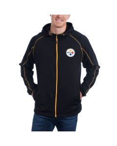 Pittsburgh Steelers GIII Resistance Full-Zip Hooded Jacket