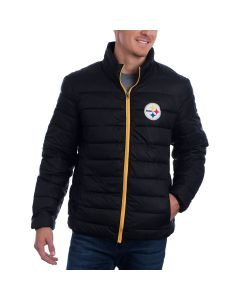 Pittsburgh Steelers GIII Packable Skybox Full-Zip Jacket