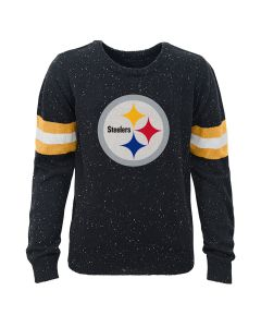 Pittsburgh Steelers Boys Fleck Knit Crew