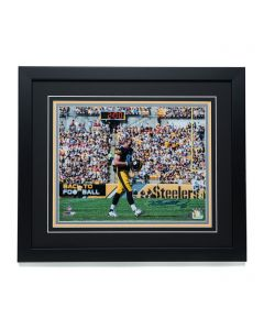 Pittsburgh Steelers #83 Heath Miller Signed 11x14 '2:00 Minute Warning' Framed Photo