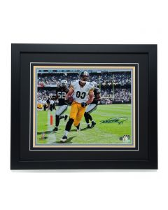 Pittsburgh Steelers #83 Heath Miller 'I've Been Here Before Celebration' Signed & Framed 11x14 Photo