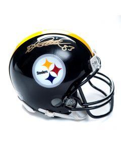 Pittsburgh Steelers #83 Heath Miller Autographed Riddell Mini Helmet