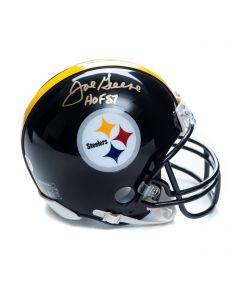 Pittsburgh Steelers #75 Joe Greene Autographed Riddell Mini Helmet