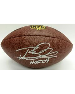 Pittsburgh Steelers #26 Rod Woodson Autographed Wilson NFL 'The Duke' Replica Football