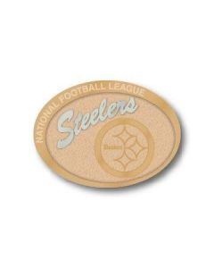 Pittsburgh Steelers Oval Two Tone Lapel Pin