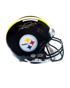 Pittsburgh Steelers #83 Heath Miller Autographed Riddell ProLine Authentic Full Size Helmet