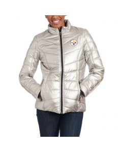 Pittsburgh Steelers Women's Touch Rise and Shine Heavy Weight Jacket