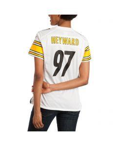 Cam Heyward #97 Women's Replica Away Jersey