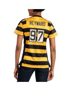 Cam Heyward #97 Women's Replica Throwback Jersey