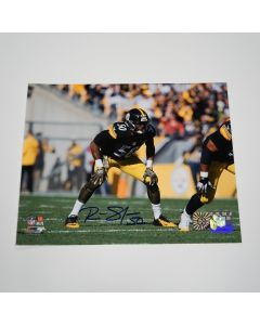 Pittsburgh Steelers #50 Ryan Shazier 'Ready for the Snap' Autographed 8x10 Photo