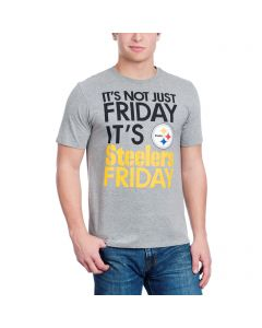 Pittsburgh Steelers Nike Not Just Friday Grey Shortsleeve T-Shirt