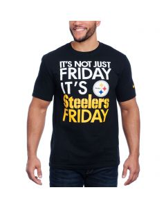 Pittsburgh Steelers Nike Not Just Friday Black Shortsleeve T-Shirt