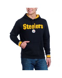 Pittsburgh Steelers Majestic Championship Black Fleece Hoodie